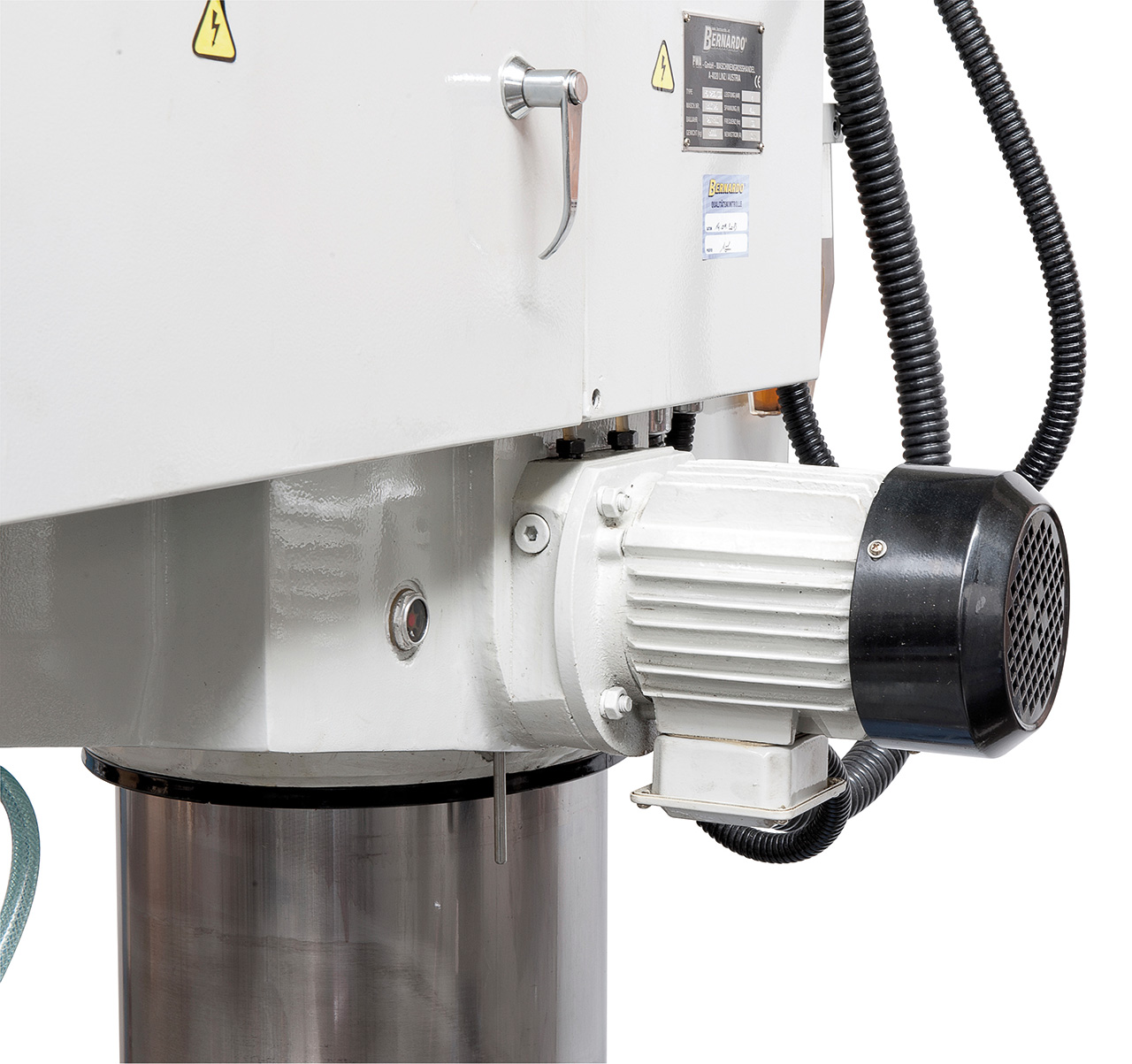 Serienmäßiger Hydraulikmotor für die Klemmung des Auslegerarms und des Bohrkopfs