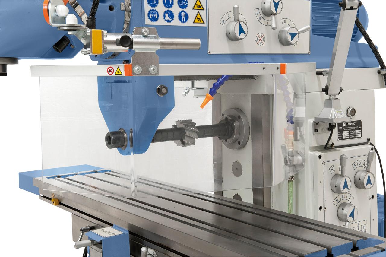 Erweiterte Anwendungsmöglichkeiten durch die Horizontalspindel, die Drehzahleinstellung erfolgt mittels Getriebe.