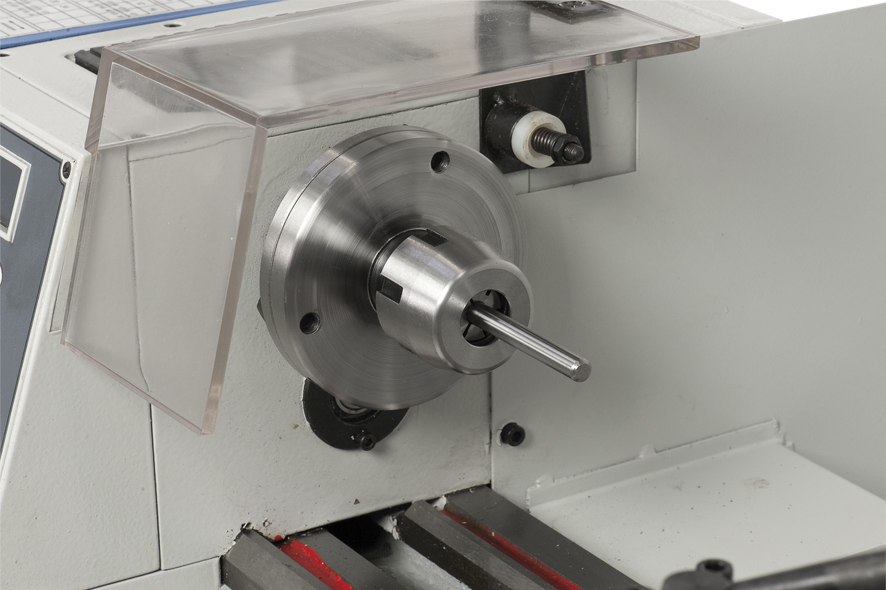Das Spannzangenfutter gewährleistet eine hohe Rundlaufgenauigkeit bei Spannen von Werkstücken, Spannbereich 4 - 16 mm.