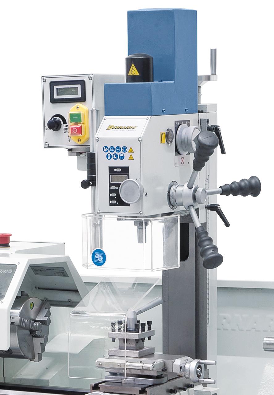 Fräsaufsatz FA 16 optional lieferbar. Technische Daten siehe Proficenter 550 WQV
