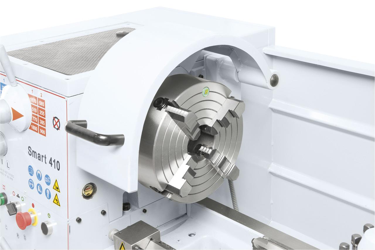 Planscheibe 250 mm (Standard), ideal zum Spannen von asymmetrischen Werkstücken.