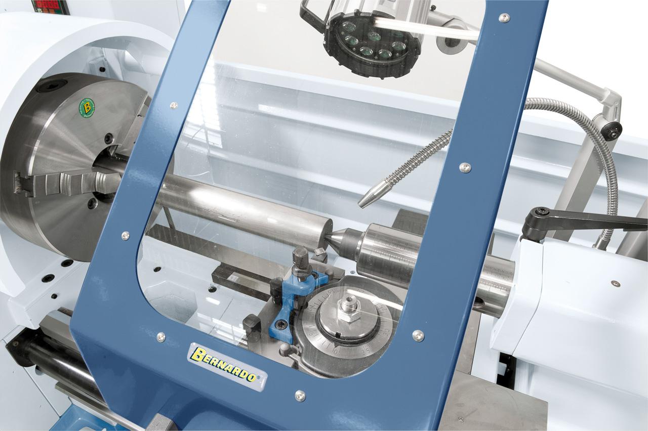 """Vorteil des Bernardo-Stahlfutters PS3€""""315 mm / D8: erhöhte Rundlaufgenauigkeit und längere Lebensdauer."""