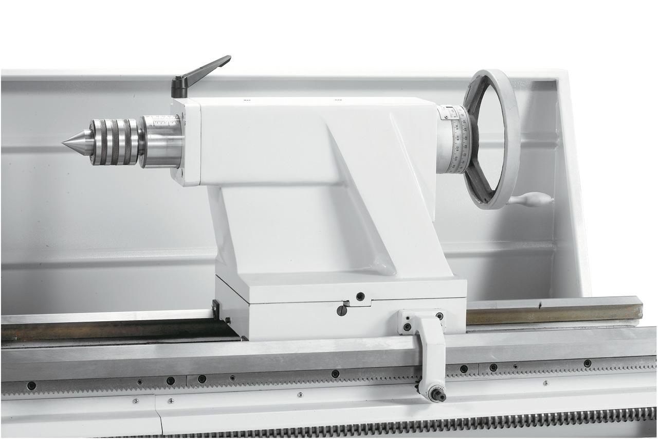 Optional lieferbar: Mitlaufende Körnerspitze MK 5