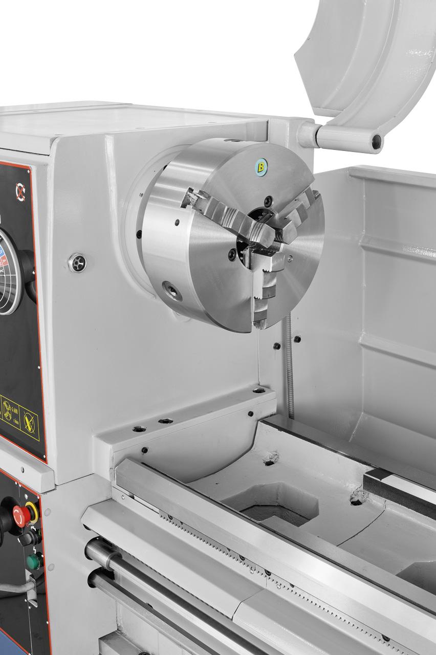 Vorteil des Bernardo-Stahlfutters: PO3-315 mm / D8: Monoblock,- Grund,- Umkehr- und Aufsatzbacken lieferbar.