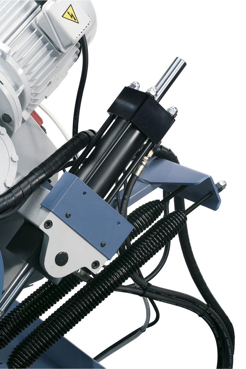 Stark dimensionierter Hydraulikzylinder, für Dauerbetrieb ausgelegt