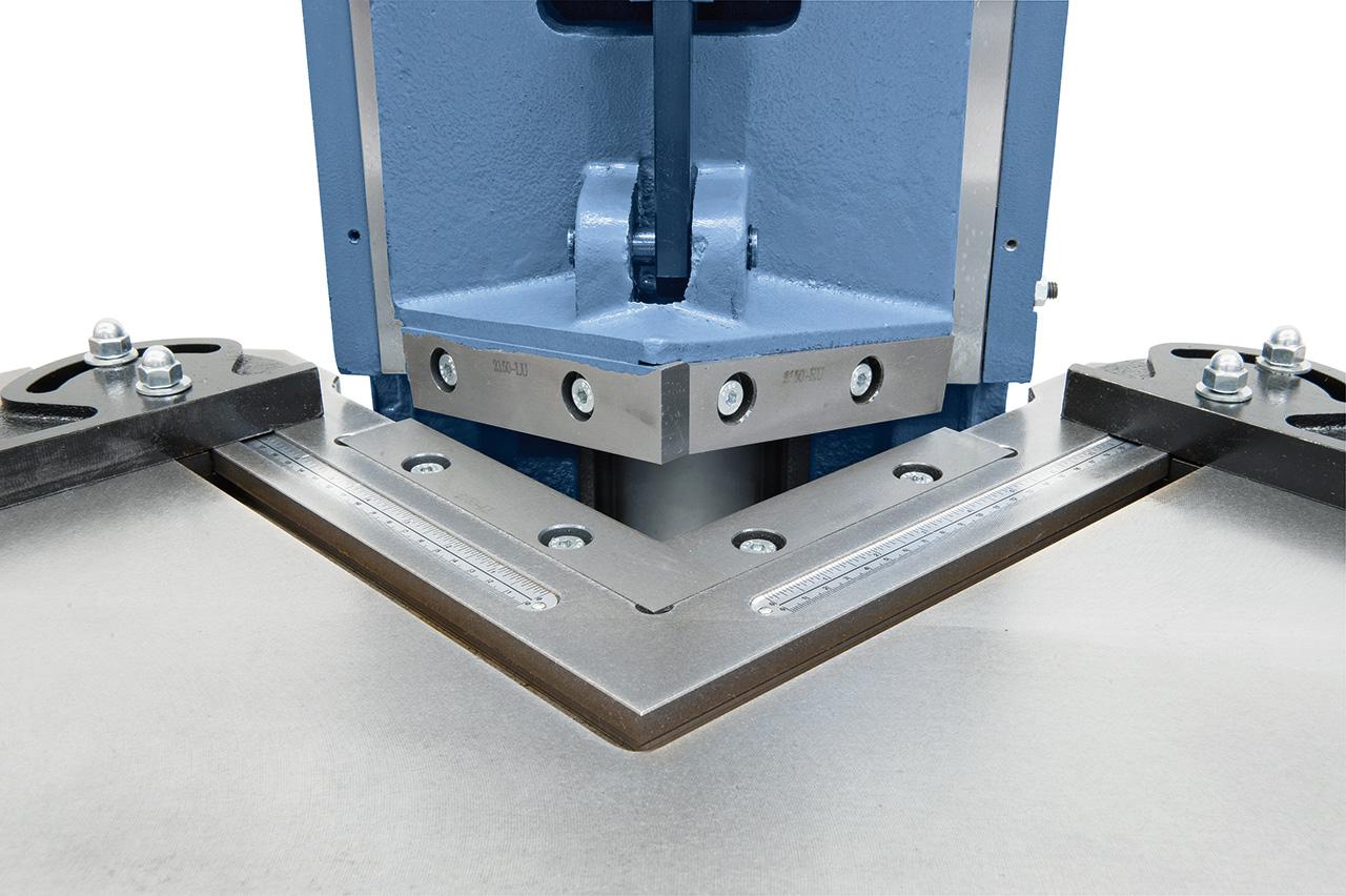 Präzise Schnittmesser aus oberflächengehärtetem Stahl.