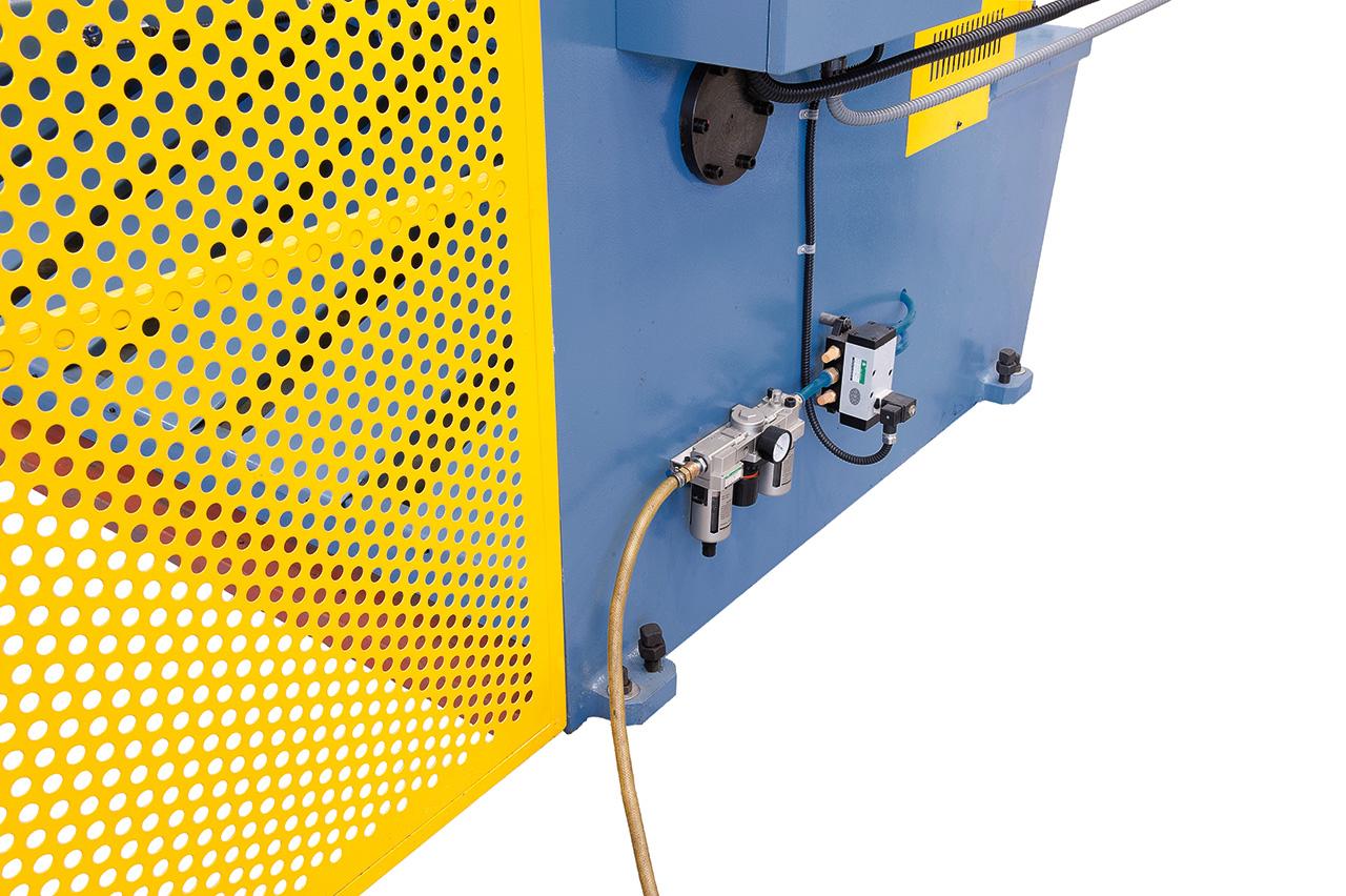 Hochwertige Hydraulik-Komponenten für einwandfreies Arbeiten.