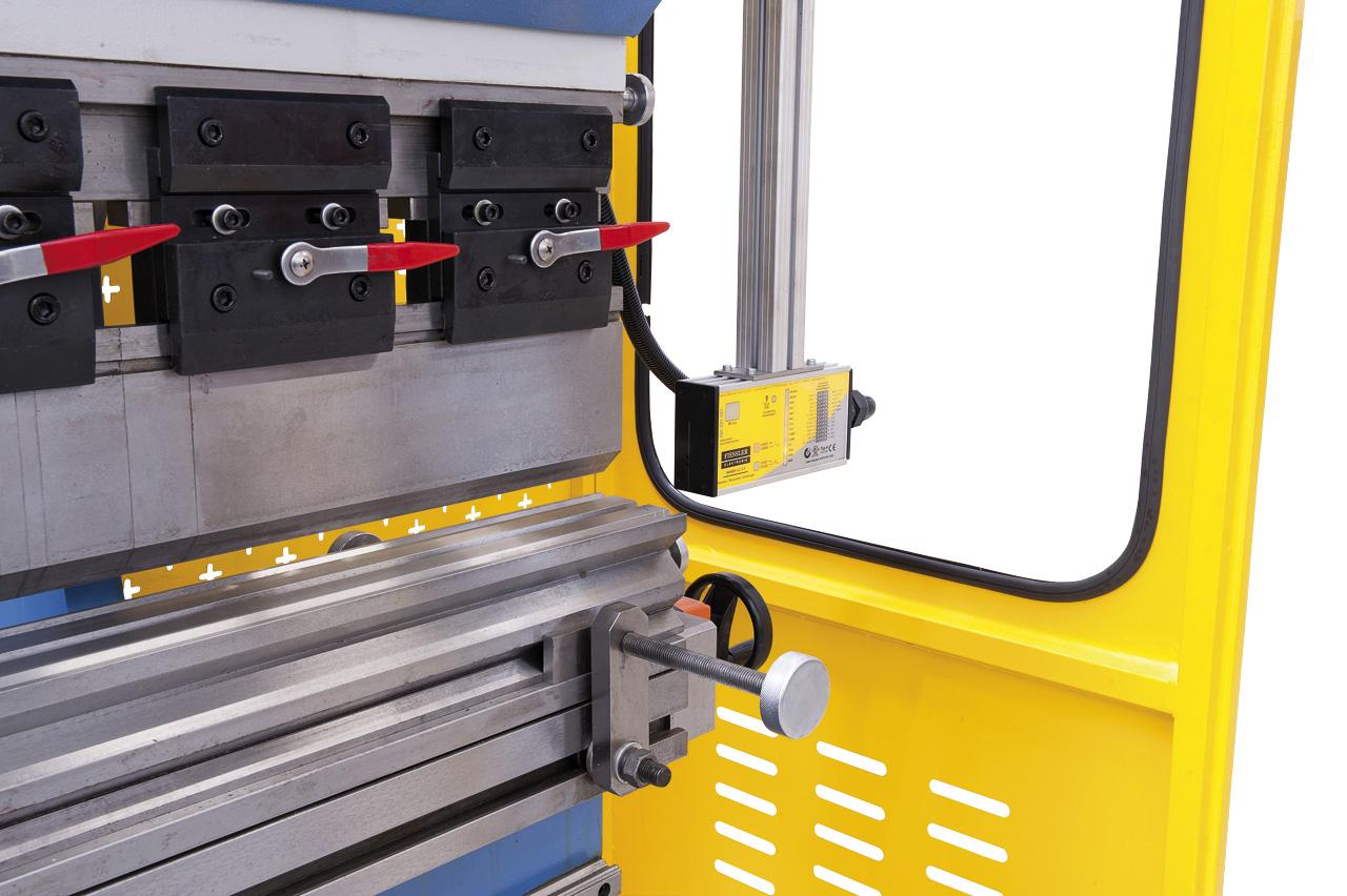 Berührungsloses, mitfahrendes, laseroptisches Sicherheitssystem Fissler AKAS-LC II.