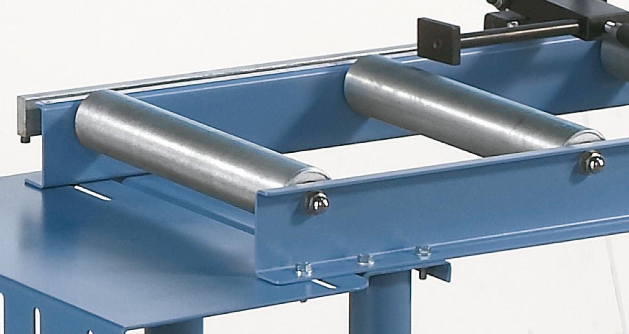 Beidseitig kugelgelagerte Stahlrollen für hohe Belastbarkeit