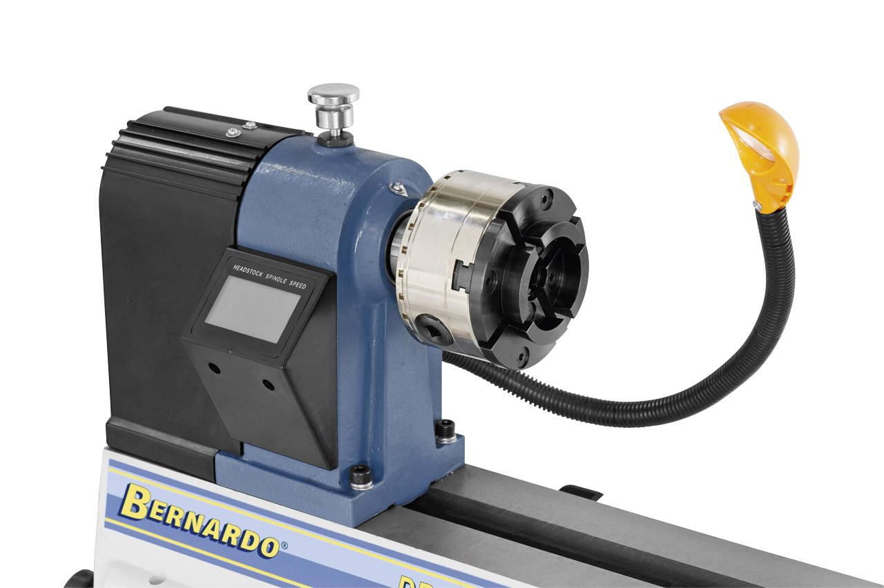 Optional lieferbar: Spannfutter M100 mit Teilung