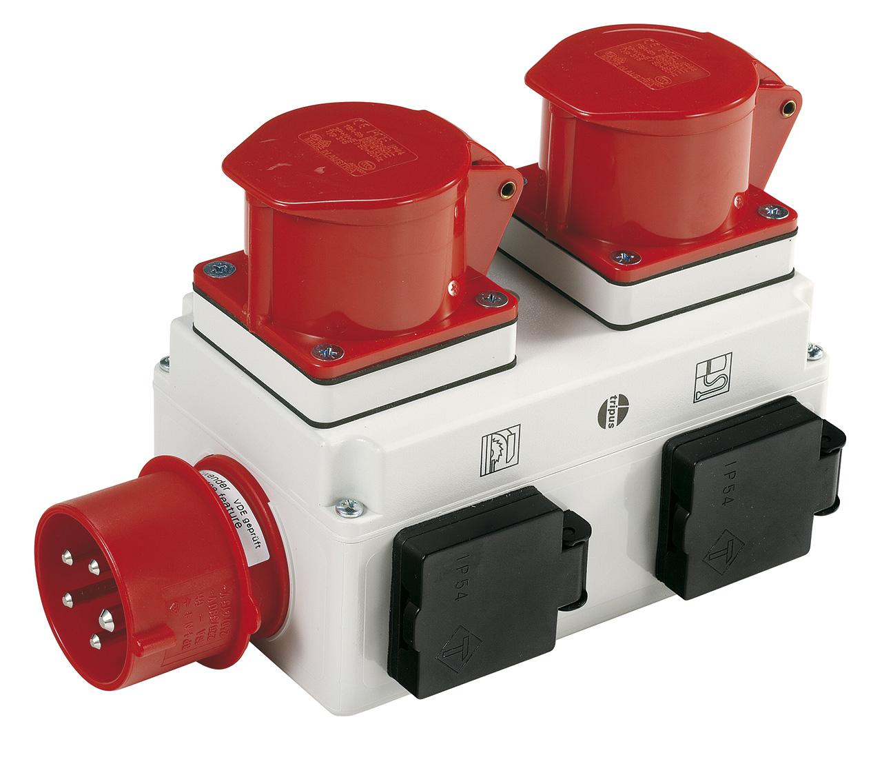 Einschaltautomatik ALV 10: Beim Ein- bzw. Ausschalten der Holzbearbeitungsmaschine wird die Absauganlage mitZeitverzögerung zu- bzw. abgeschaltet (Option).