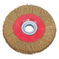 Steel brush wheel 200 x 25 x 32 mm