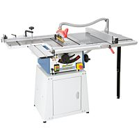 Ábra TK 200 PRO opcionálisan görgos asztallal, asztalszélesítéssel és zárt állvánnyal