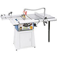 Ábra TK 250 PRO opcionálisan görgos asztallal, asztalszélesítéssel és zárt állvánnyal