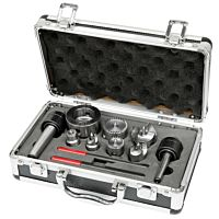 Drive center set M 33 x 3,5 incl. 2 live center MK 1 and MK 2, 9 pcs.