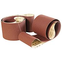 Sanding belt 2600 x 150 mm - grit 80 (5 pcs.)