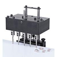 Reihenbohrkopf 32 mm, mit Aufnahme für Stemmmaschinen