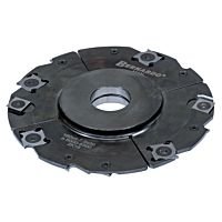 Adjustable groove cutter head 160 x 4 - 7,5 x 30 mm