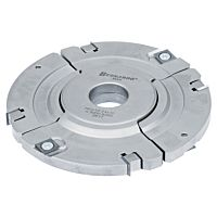 Adjustable groove cutter head 160 x 12 - 24 x 30 mm