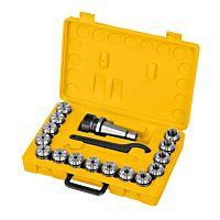 Fräser-Spannzangenfutter-Set ER40, ISO 40, 3 - 25 mm
