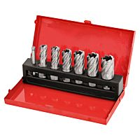 HSS core drills set, 14 - 24 mm