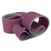 Fabric sanding belt-set 762 x 75 mm