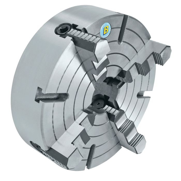 """K72-200 8/"""" 4 Jaw Lathe Chuck Independent Milling Machine 200mm Front Mounting"""